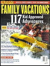 Outside Magazine Family Vactions cover